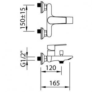 Baterie pentru cada AGORA XTREME ec21
