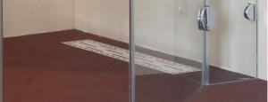 Cabină de duș Alux Premium de tip L 120x90 - sticlă securizată0