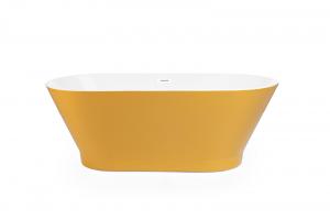 Cada de baie freestanding OSLO 170 cm x 80 cm - Yellow2