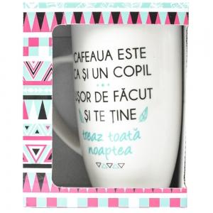 Cana Cafeaua Este Ca Si Un Copil. Usor De Facut Si Te Tine Treaz Toata Noaptea 400 ML3