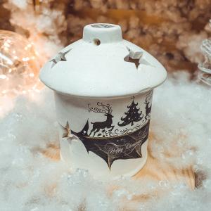 Candela pentru lumanare realizata din ceramica – Design Reni [0]