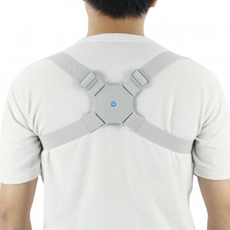 Corector de Postura INTELIGENT cu vibratii - Perfect pe timpul verii [2]