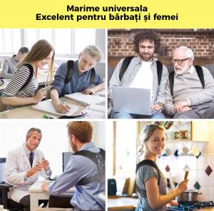 Corector postura spate, Ham Posture Doctor Indreptare coloana, marime Universala8