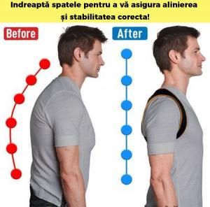 Corector postura spate, Ham Posture Doctor Indreptare coloana, marime Universala6