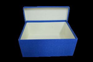 Cutie cadou cu sclipici - Albastru1