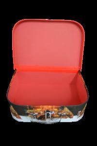 Cutie cu maner si inchizatoare - Design craciun - Model 21