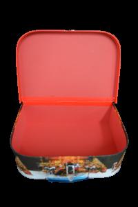 Cutie cu maner si inchizatoare - Design craciun - Model 22