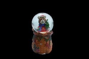 Glob de zapada pentru Craciun realizat din sticla – Design Ursulet [1]