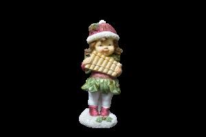 Figurina decorativa pentru Craciun realizata din ceramica – Copil1