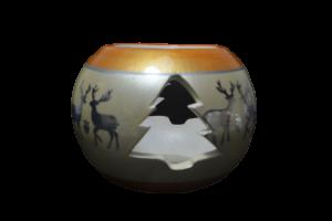 Candela in forma de glob realizata din ceramica – Design cu reni2