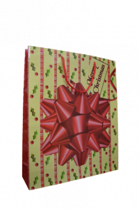 Punga pentru cadouri mare - Design Merry Christmas