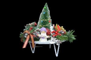 Decoratiune craciun pentru masa cu figurine - Model 21