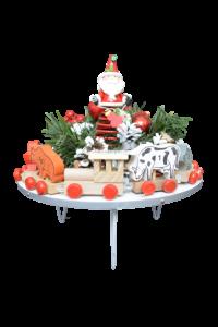 Decoratiune craciun pentru masa cu figurine - Model 32
