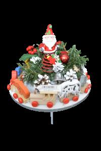 Decoratiune craciun pentru masa cu figurine - Model 31