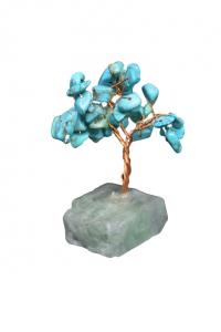 Copacel cu baza de fluorit si pietre de turcoaz reconstruit 8 cm1