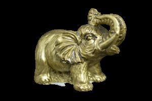 Statueta elefant cu trompa in sus feng shui0