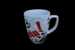 Cana din ceramica in cutie - Model minge1