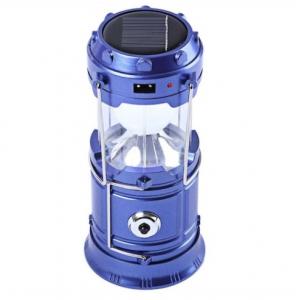 Lanterna Camping Cu Incarcare Solara, USB Sau La Priza – 6 Leduri [0]