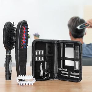Set de perii electrice - tratament cu laser, oprește caderea părului cu accesorii (12 bucăți)2