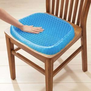 Pernă cu gel - pentru scaun, antiderapant și respirabil,pentru durere de spate5