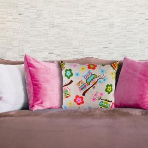 Perna Decorativa Bufnita #1 45X45 CM0