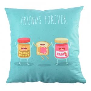 Perna Decorativa Friends Forever #1 45X45 CM2