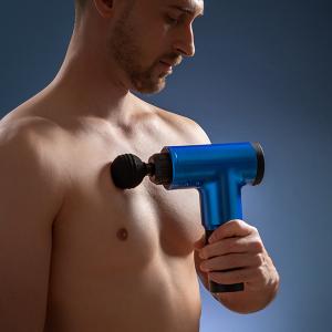 Pistol de masaj pentru relaxare și recuperare musculară0