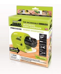 Dispozitiv Electric Pentru Ascutit Cutite, Foarfece, Surubelnite Swifty Sharp - 20W5