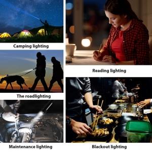 Lanterna LED Cu Baza Magnetica – 2 Functii - 4 Culori6