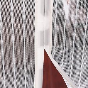 Perdea Alba Anti Insecte Pentru Usa - Cu Magnet8