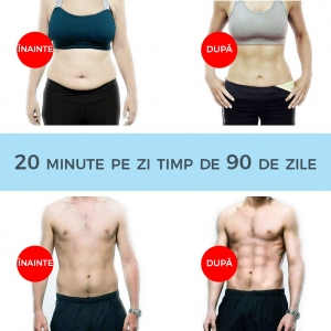Centura Electrostimulare Corporala Smart Fitness – 3 In 11
