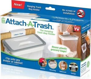Suport Pentru Sacul De Gunoi Cu Capac - Attach A Trash4