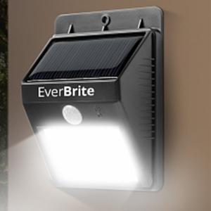 Lampa Pentru Exterior Cu Incarcare Solara Si Senzor Ever Brite2