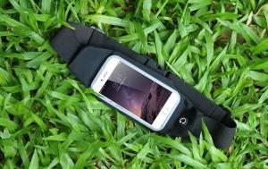 Husa/Borseta Telefon Pentru Alergat Negru – 5.5 Inch1