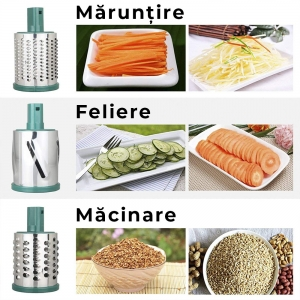 Aparat Manual De Feliat Legume Si Fructe – 3 Lame3