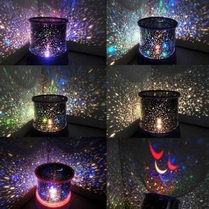 Lampa LED Proiector Laser – Stele - Roz [1]
