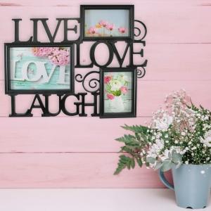 Rama Foto Live, Laugh, Love 45X38 CM1