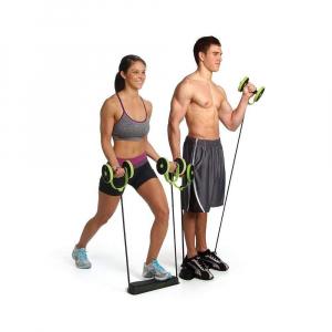 Roată dublă cu role pentru abdomen Fitness Extreme11