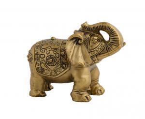 Statueta feng shui - Elefant cu trompa in sus0