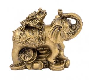 Elefant cu broasca raioasa cu trei picioare1