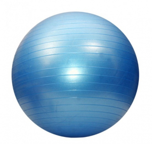 Minge fitness 65 cm, albastra0