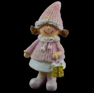 Figurina decorativa pentru Craciun realizata din ceramica – Copil [1]