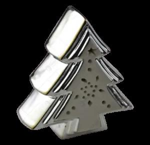 Decoratiune de craciun realizata din ceramica – Brad cu led1
