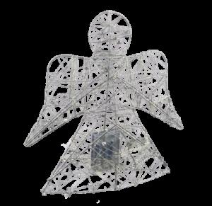 Decor masa inger cu 30 de leduri – Argintiu0