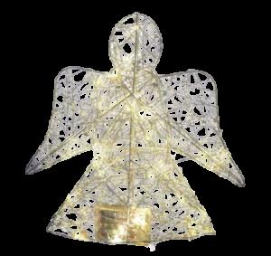 Decor masa inger cu 30 de leduri – Argintiu1