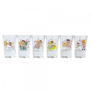 Set 6 Pahare Shot-uri Kamasutra #1 35 ML2