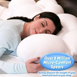 Somn confortabil - pernă în formă de ou