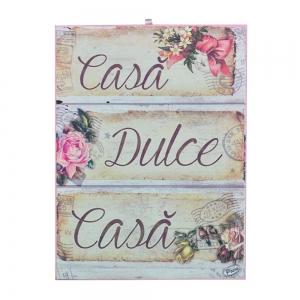 Tablou Canvas Casa Dulce Casa 20X15 CM2