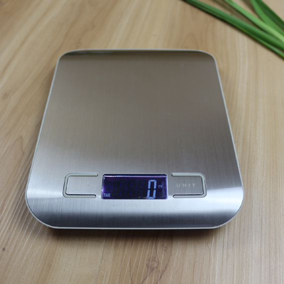 Cantar de bucatarie Mrk Prestige, afisaj digital, 5 kg, argintiu 1