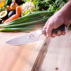 Cutit de bucatarie profesional MRK PRESTIGE din otel german, cu lama de 20 cm3